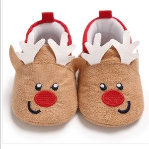 Baby Soft Sole Christmas Shoe